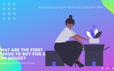 Shopping List For New Home – Things To Buy For A New House